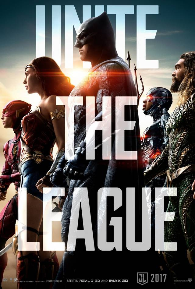 Justice league Teaser Poster USA 2