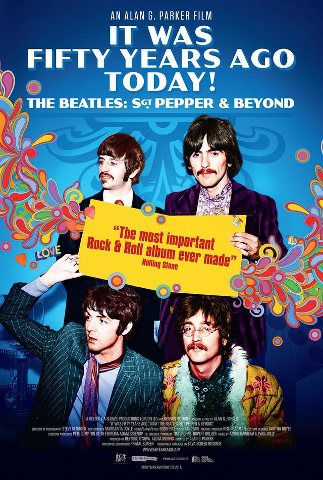The Beatles - Sgt Pepper and Beyond Teaser Poster Internazionale