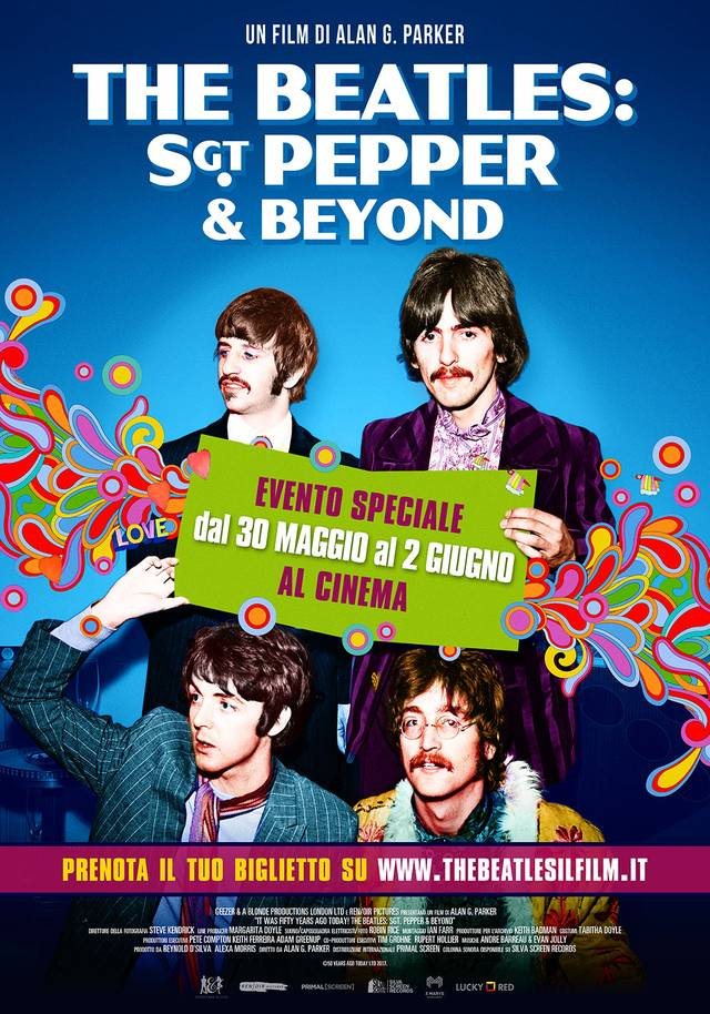 The Beatles Sgt Pepper and Beyond Poster Italia