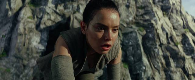 Star Wars - Gli Ultimi Jedi Daisy Ridley Screencap 1