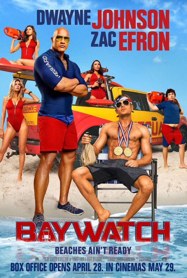Baywatch Poster USA