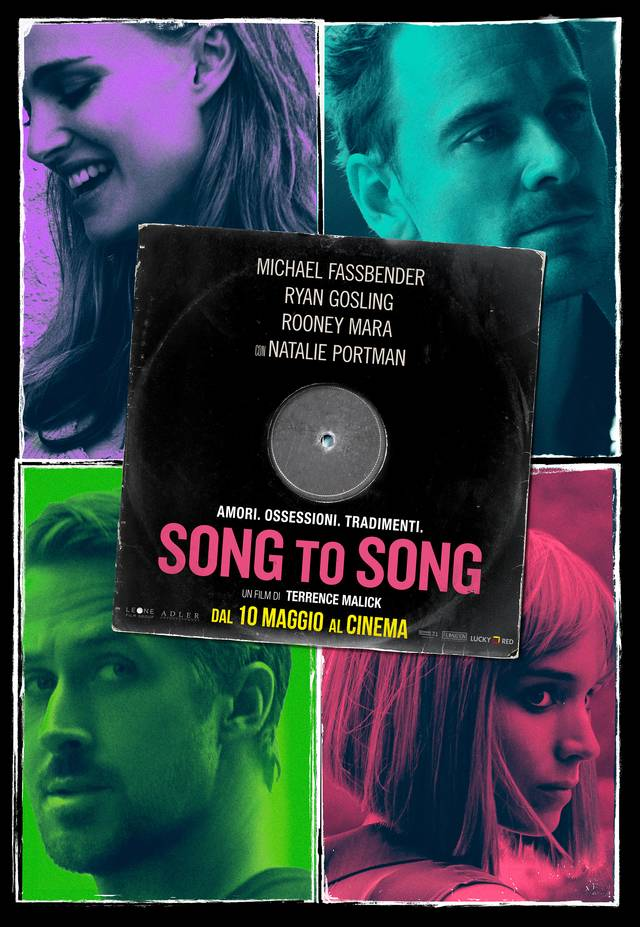 Song to Song Poster Italia