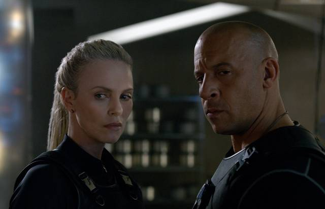 Fast & Furious 8 Charlize Theron Vin Diesel foto dal film 10