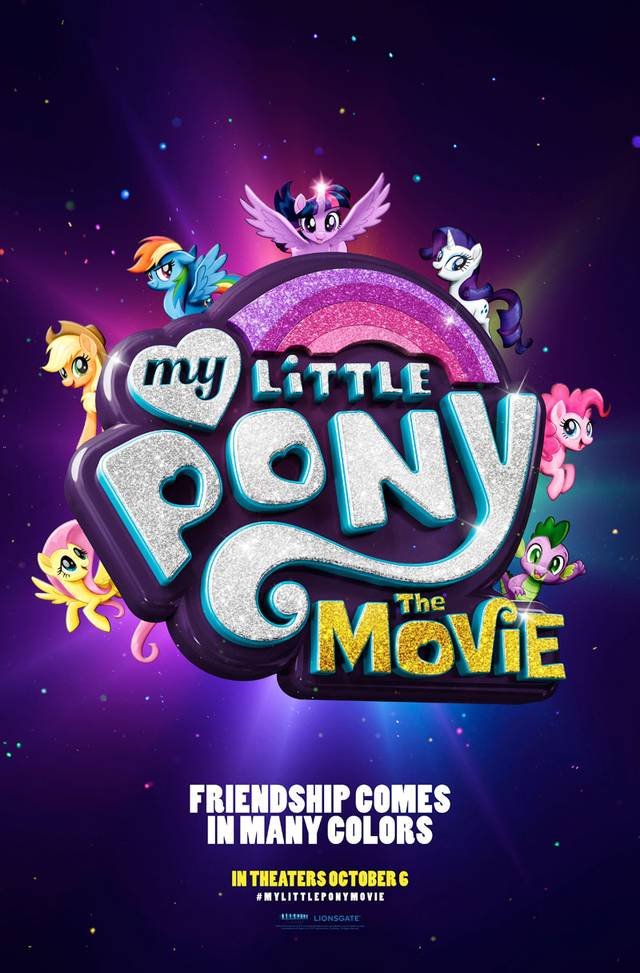Il poster di My Little Pony: The Movie