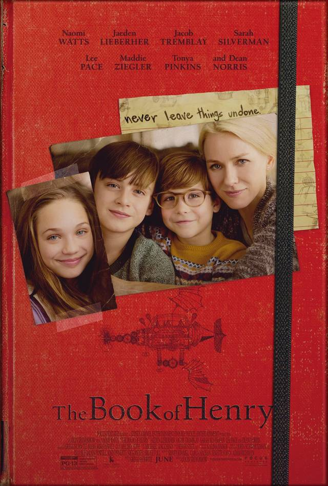 Il poster finale di The Book of Henry