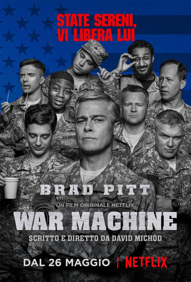Il poster di War Machine