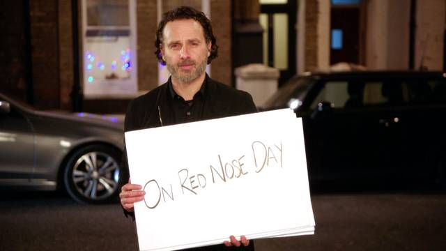 Red Nose Day Actually Andrew Lincoln foto dal film 3