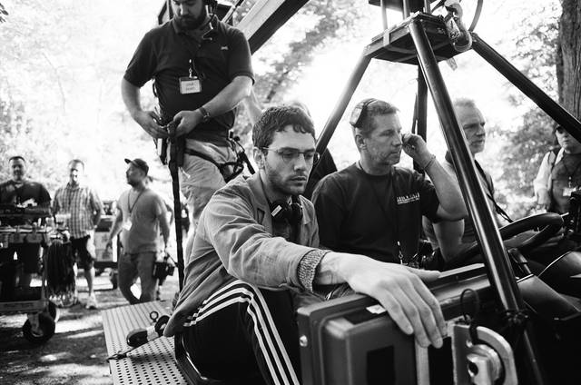 The Death and Life Of John F. Donovan Xavier Dolan foto dal set 3