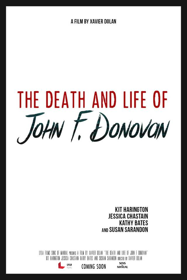 The Death and Life of John F. Donovan Teaser Poster USA