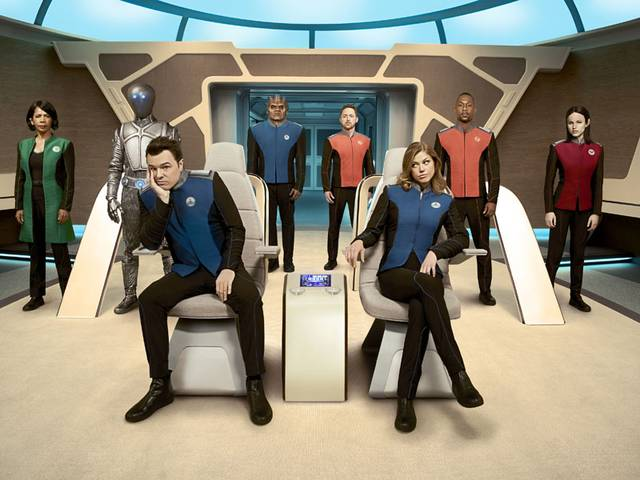 The orville cast mid