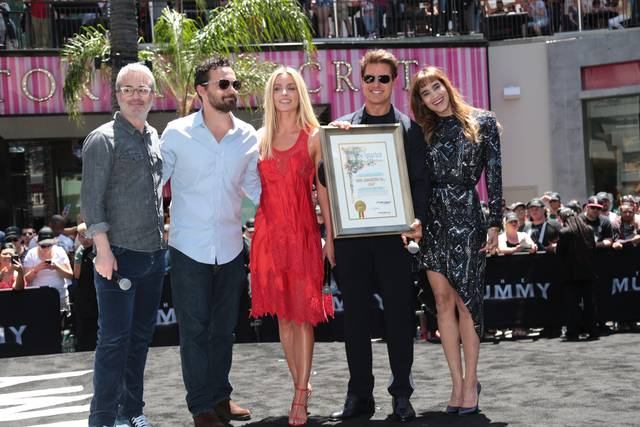 La Mummia Jake Johnson Tom Cruise Annabelle Wallis Sofia Boutella Alex Kurtzman Mummy Day Los Angeles foto 4