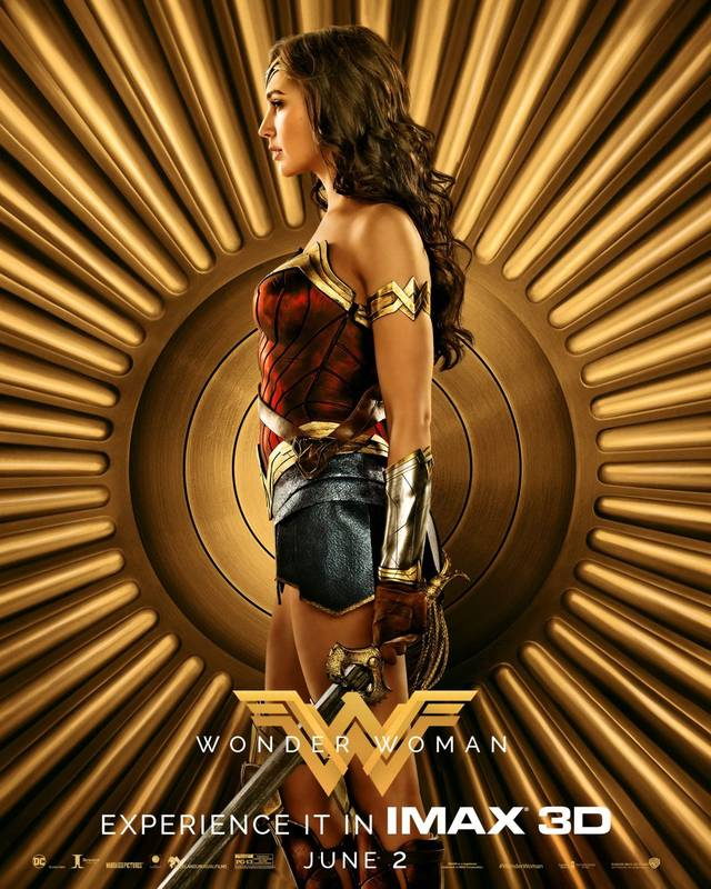 Diana nel character poster IMAX