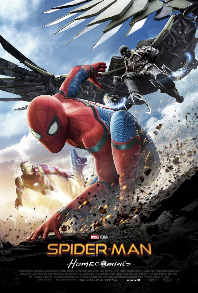 Spider-Man Homecoming Poster Italia