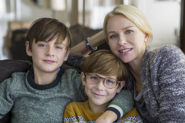 The Book of Henry Naomi Watts Jaeden Lieberher Jacob Tremblay foto dal film 1