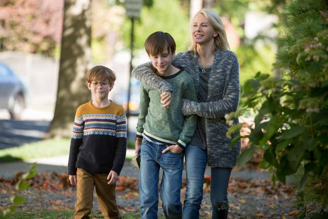 The Book of Henry Naomi Watts Jaeden Lieberher Jacob Tremblay foto dal film 2