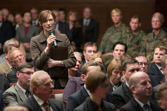 War Machine Tilda Swinton foto dal film 4