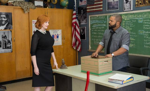 Fist Fight Ice Cube Christina Hendricks foto dal film 2