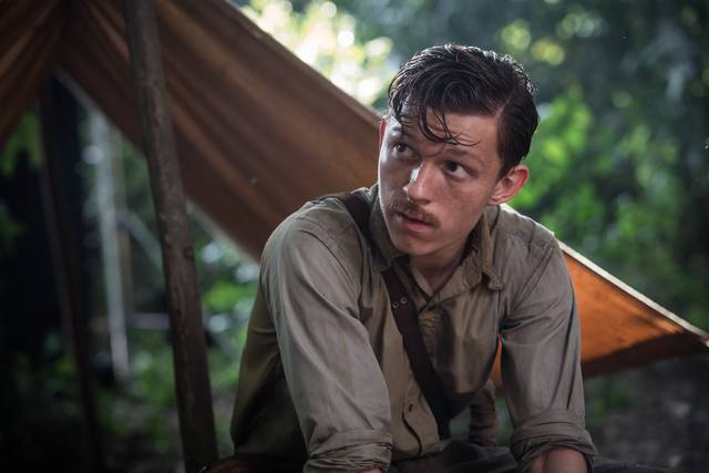 Civiltà perduta Tom Holland foto dal film 2