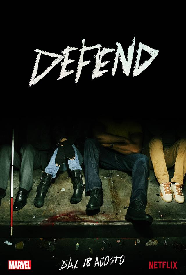 Il primo poster di The Defenders