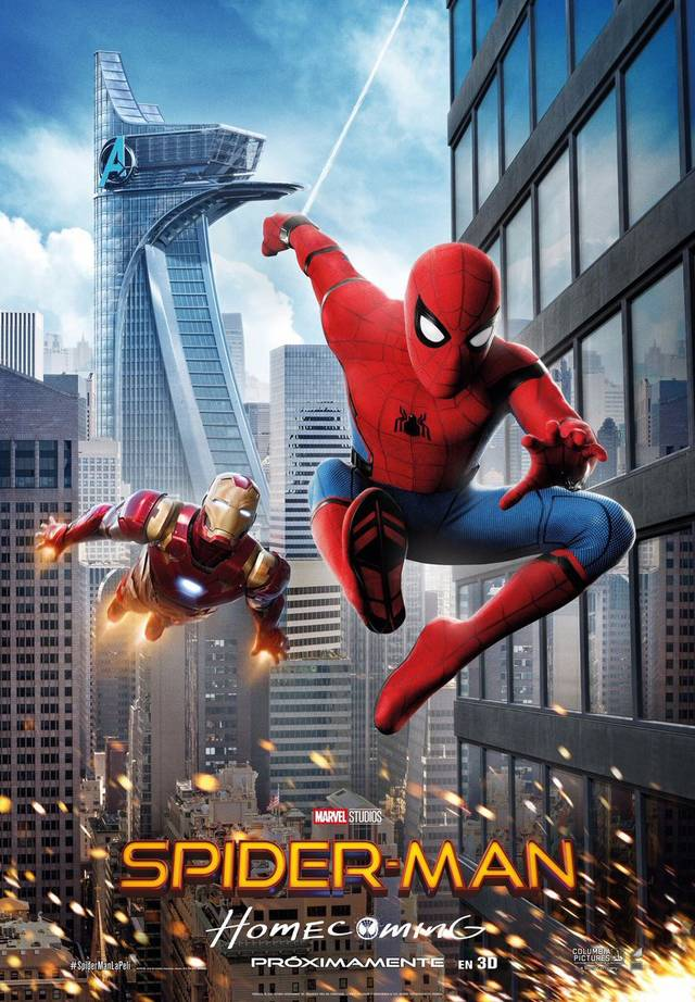 Spider-Man Homecoming Teaser Poster USA