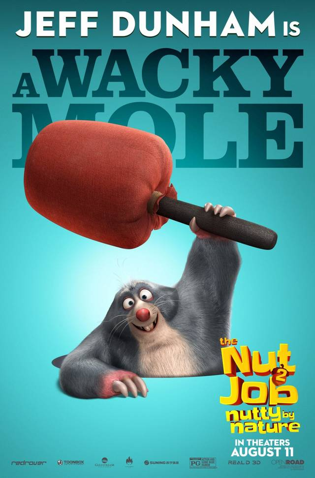 The Nut Job 2 - Nutty By Nature Teaser Character Poster USA 1