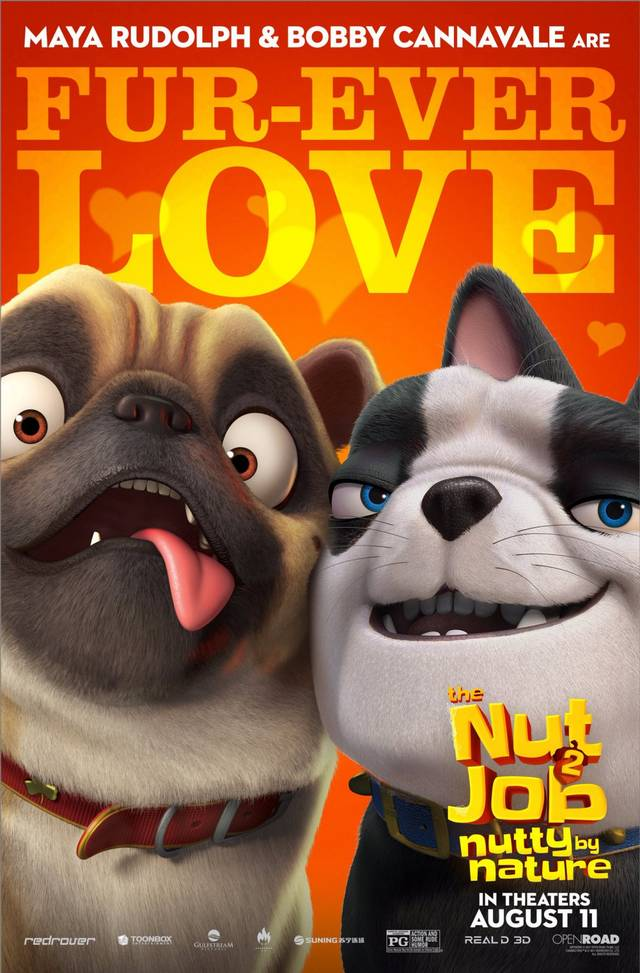 The Nut Job 2 - Nutty By Nature Teaser Character Poster USA 2