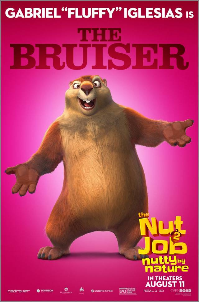 The Nut Job 2 - Nutty By Nature Teaser Character Poster USA 3