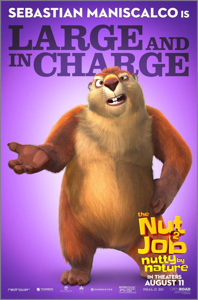 The Nut Job 2 - Nutty By Nature Teaser Character Poster USA 4