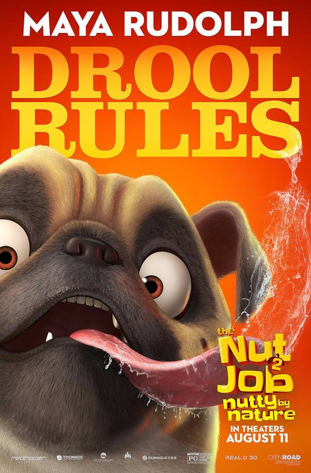 The Nut Job 2 - Nutty By Nature Teaser Character Poster USA 5