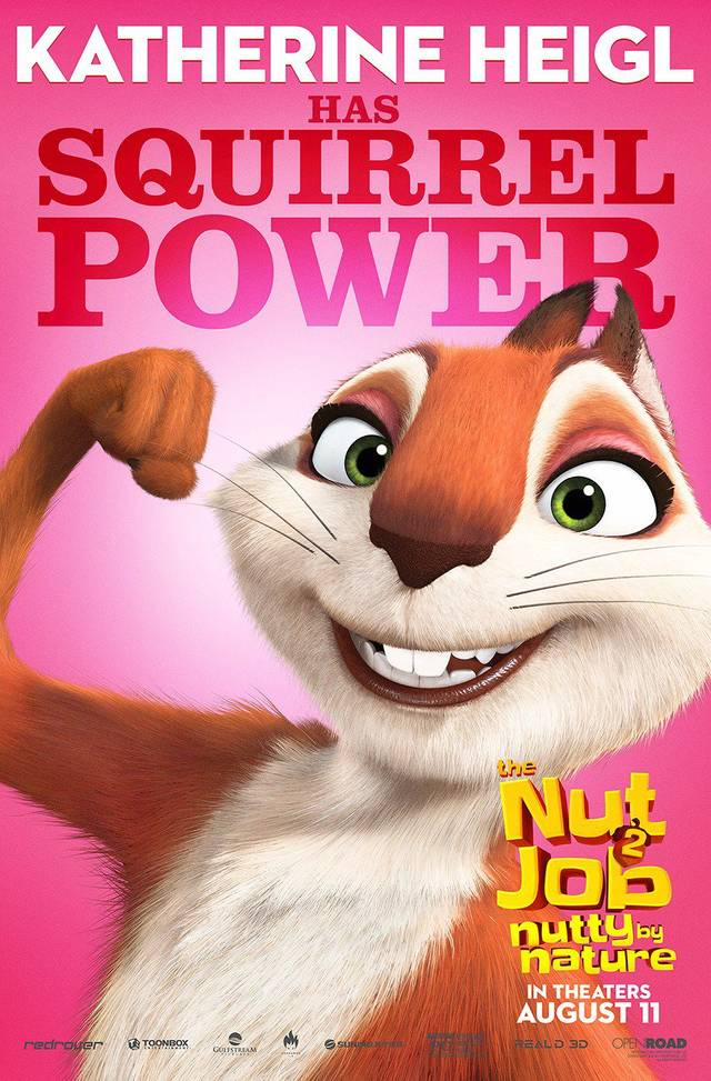 The Nut Job 2 - Nutty By Nature Teaser Character Poster USA 8