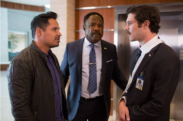 CHiPs_Michael Peña Isiah Whitlock Jr Adam Brody_foto dal film 2