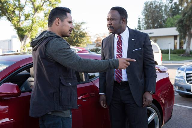 CHiPs_Michael Peña Isiah Whitlock Jr_foto dal film 4