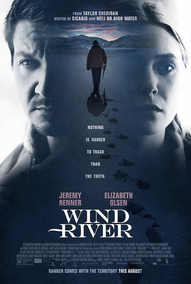 Wind River Teaser Poster USA 2