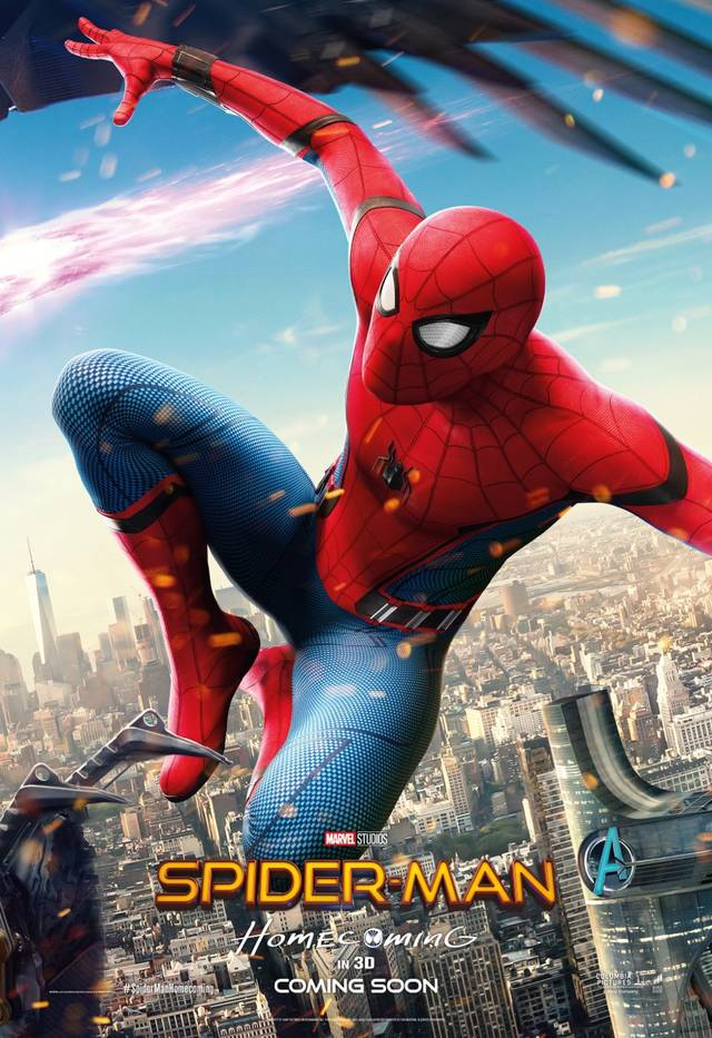 Spider-Man - Homecoming Teaser Character Poster componibile 2di3 USA 2