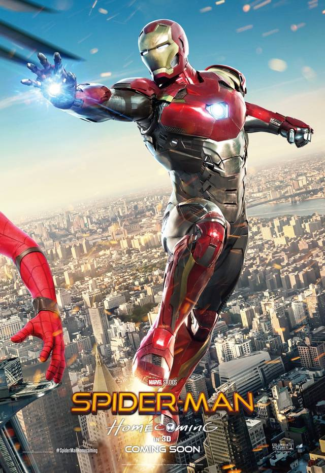 Spider-Man - Homecoming Teaser Character Poster componibile 3di3 USA 3