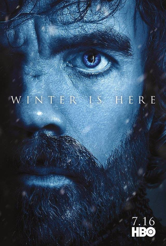 Il character poster di Tyrion