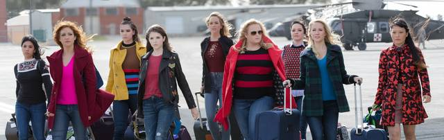 Pitch Perfect 3 Anna Kendrick Brittany Snow Rebel Wilson Anna Camp Hana Mae Lee Hailee Steinfeld Ester Dean Kelley Jakle Shelley Regner foto dal film 2