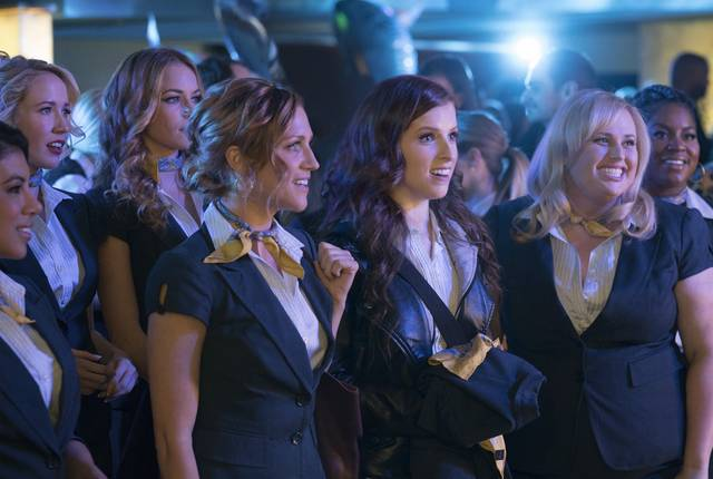 Pitch Perfect 3 Anna Kendrick Rebel Wilson Anna Camp foto dal film 2