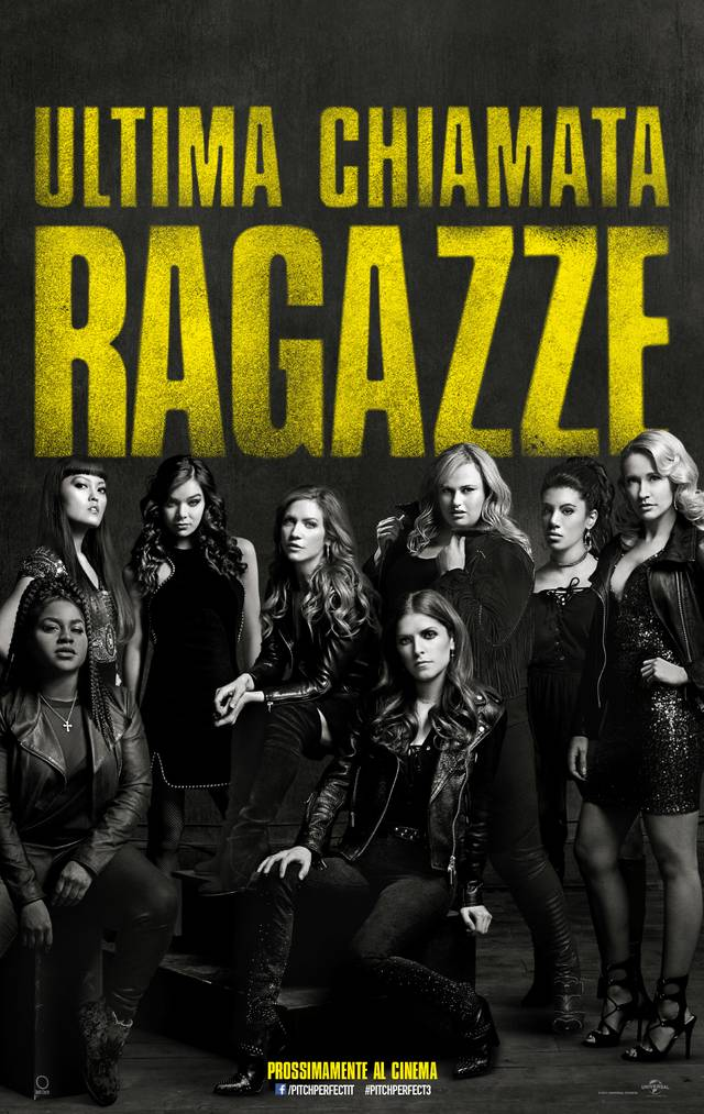 Pitch Perfect 3 Poster Italia