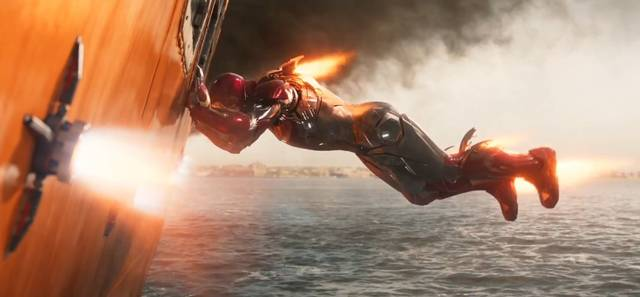 Spider-Man Homecoming Robert Downey Jr. foto dal film 2