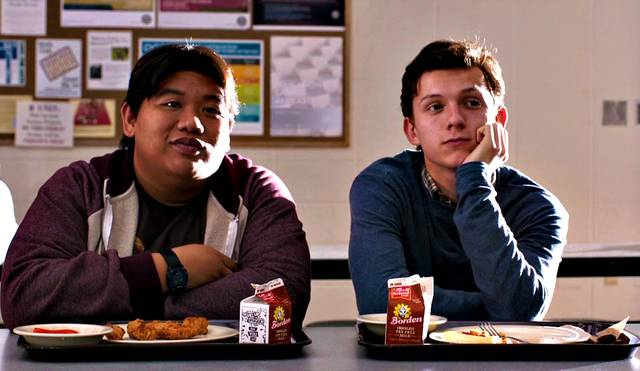 Spider-Man Homecoming Tom Holland Jacob Batalon foto dal film 2