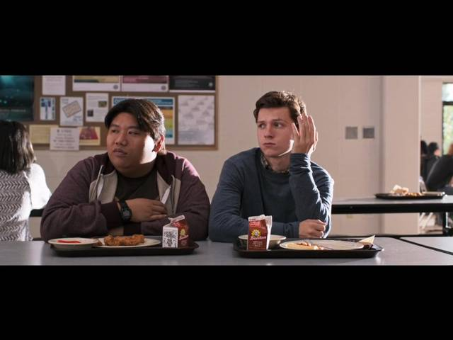 Spider-Man Homecoming Tom Holland Jacob Batalon foto dal film 4