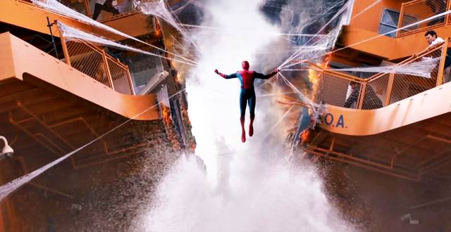 Spider-Man Homecoming Tom Holland foto dal film 10
