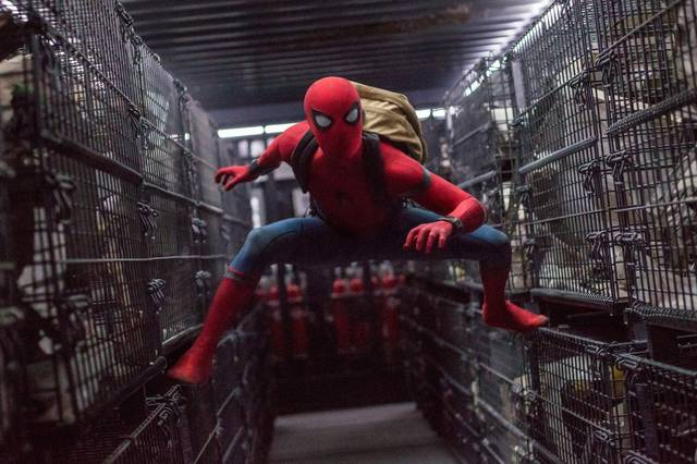 Spider-Man Homecoming Tom Holland foto dal film 17
