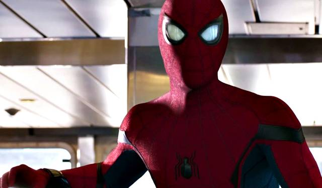 Spider-Man Homecoming Tom Holland foto dal film 18