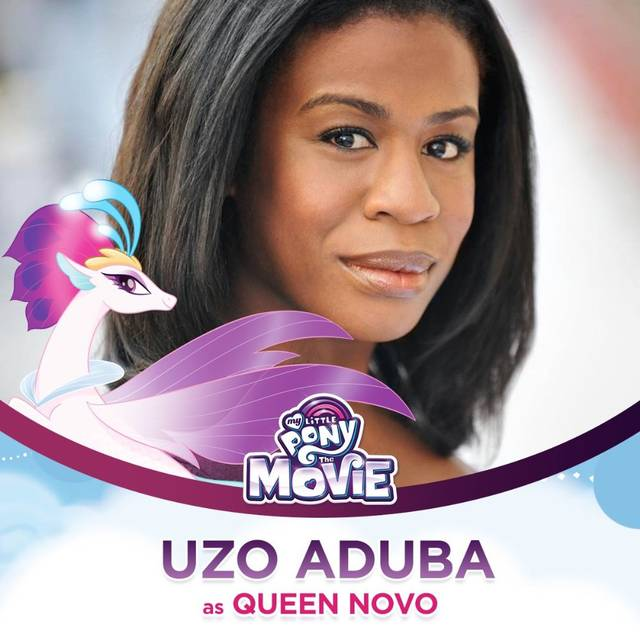 My Little Pony - The Movie Uzo Aduba Character Queen Novo