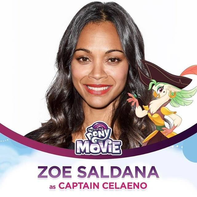 My Little Pony - The Movie Zoe Saldana Character Captain Celaeno