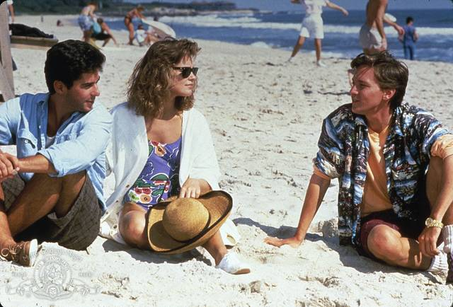 Weekend con il morto Andrew McCarthy Jonathan Silverman Catherine Mary Stewart foto dal film 1