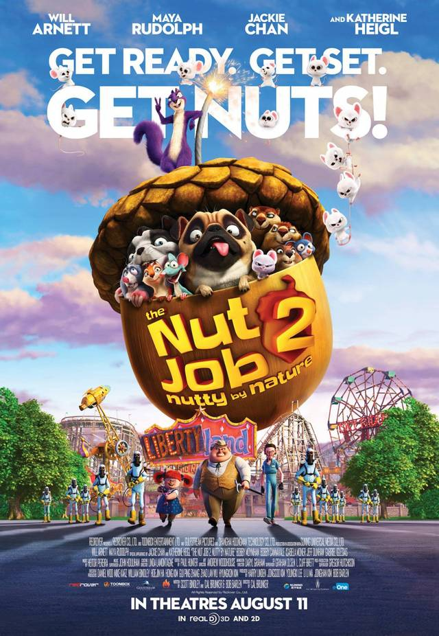 The Nut Job 2 - Nutty By Nature Poster USA