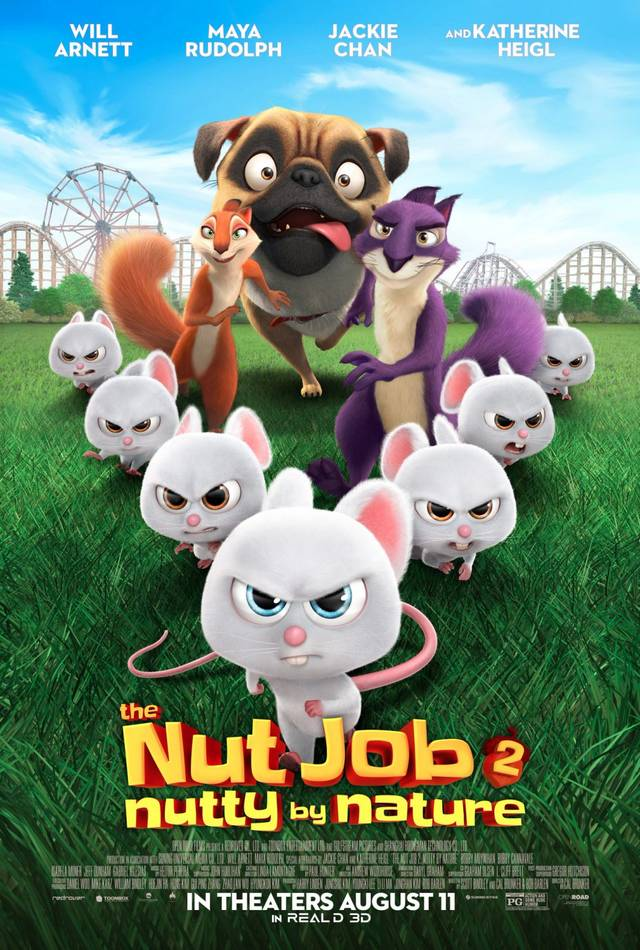 The Nut Job 2 - Nutty By Nature Poster USA 2